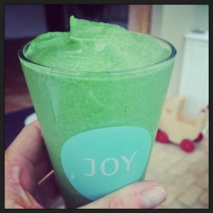 Blodsukkervenlig grøn smoothie